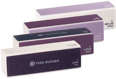Yves Rocher 4 - Zijdig Polijstblok, Accessoires, Manicureverzorging, Nagels, Make - up online kopen